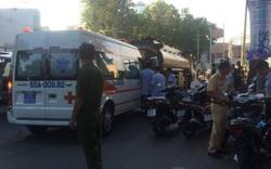 Va chạm xe bồn biển đỏ, người đàn ông bị cán qua người tử vong giữa trung tâm Sài Gòn