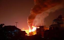 Cháy nhà 5 tầng ở Hà Nội, 2 bé gái tử vong