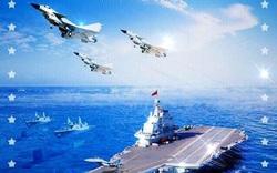 """BQP TQ bị chỉ trích vì """"đăng nhầm"""" ảnh tàu Mỹ, máy bay Nga để chúc mừng lực lượng hải quân"""