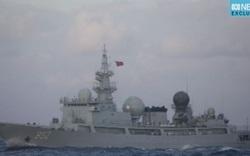 Lén theo dõi Mỹ-Úc tập trận, tàu do thám Trung Quốc bị bắt quả tang