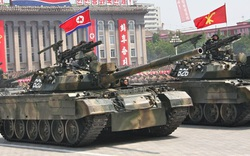 Xe tăng có dàn hỏa lực mạnh nhất thế giới của Quân đội Triều Tiên