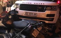 Nghi án nam thanh niên cướp xe Range Rover rồi bỏ chạy, gây tai nạn liên hoàn ở Hà Nội