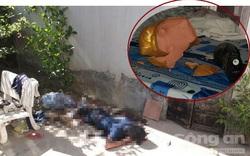 Vụ 2 mẹ con chết thảm bên hông nhà: Cửa phòng ngủ và heo đất bị đập vỡ