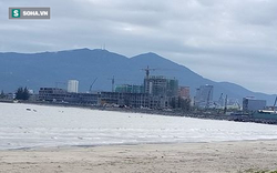 Cát dùng san lấp biển ở khu đô thị quốc tế Đa Phước có nguồn gốc bất minh