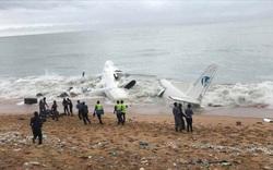 NÓNG: Máy bay vừa cất cánh đã đâm xuống biển ở Bờ Biển Ngà, ít nhất 4 người thiệt mạng