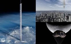 """""""Treo"""" khách sạn lơ lửng trên thiên thạch ở độ cao 50.000km! Chỉ có thể là Mỹ"""