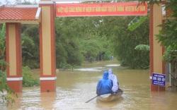 Mưa lớn, thủy điện xả lũ khiến Huế ngập nặng lần thứ 2 trong nửa tháng