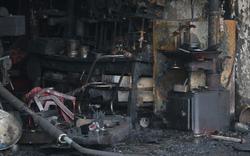 Hiện trường đám cháy kinh hoàng khiến 2 chị em gái ở Hà Nội tử vong