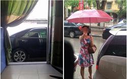 Nhắc tài xế đỗ xe chắn cửa, cô gái nhận được phản hồi đầy bất ngờ