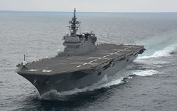 Tàu khu trục mạnh ngang tàu sân bay của Nhật Bản