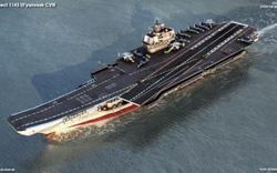 Siêu tàu sân bay 85.000 tấn – Mảng ký ức đen tối mà Nga muốn lãng quên