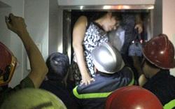 5 người kẹt trong thang máy treo lơ lửng ở trung tâm Sài Gòn