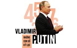 Tổng thống Nga Vladimir Putin: Chủ nhân Điện Kremlin 3 nhiệm kỳ và những con số đáng nể