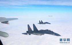 """Chiến đấu cơ TQ mang tên lửa hành trình CJ-10 vưọt eo biển Miyako, Nhật, Đài """"lo sốt vó"""""""