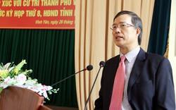 Cách chức nguyên Bí thư Tỉnh uỷ Vĩnh Phúc với ông Phạm Văn Vọng