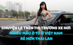 Chuyện lạ trên thị trường xe hơi: Nhiều mẫu ô tô ở Việt Nam rẻ hơn Thái Lan