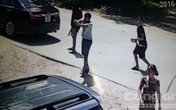 113 bám đuổi, khống chế kẻ dùng súng truy sát người đi ô tô