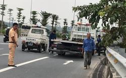Xe cứu hộ mất lái lao lên vỉa hè tông tử vong 2 phụ nữ đi thể dục