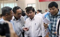"""Chủ tịch TP HCM hứa """"không chần chừ, kéo dài vụ Thủ Thiêm"""""""