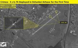 Máy bay vận tải IL-76 Nga dồn dập đổ bộ xuống Crimea: Đợt vận chuyển quân rất lớn?