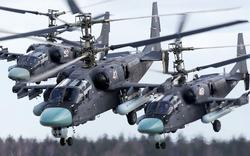 """""""Cá Sấu"""" Ka-52 ào ào tràn vào khai hỏa: Đòn mở màn cuộc chiến với Ukraine của Nga?"""