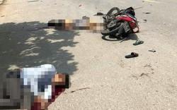 Xe máy kẹp ba thanh niên tông thẳng vào ô tô tải, một người tử vong tại chỗ