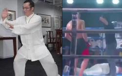 """Vén màn võ công thật của """"cao thủ"""" Võ Đang vừa thua bẽ bàng trước đấu sĩ MMA"""