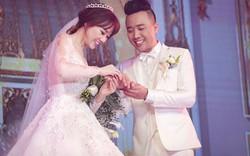 """Hari Won: """"Ngày cưới, chồng tôi vừa hát vừa khóc"""""""