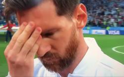 Cử chỉ bất thường báo hiệu cơn ác mộng với Messi cùng đồng đội