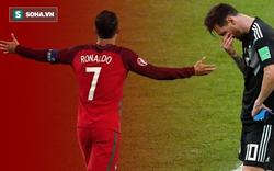 """Nếu nhìn vào điều này, hẳn Messi sẽ """"phát thẹn"""" với Ronaldo?"""