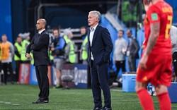 Didier Deschamps giờ đã sánh ngang Beckenbauer, Voller và Zagallo
