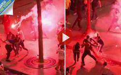 Hai CĐV Pháp thiệt mạng vì gãy cổ, đâm vào gốc cây khi ăn mừng chiến thắng