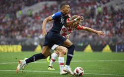 """Tiết lộ bất ngờ về thể trạng của Mbappe khi """"nhấn chìm"""" Croatia ở chung kết World Cup 2018"""