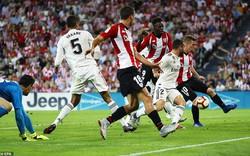 Vắng Ronaldo, Real Madrid lại tụt sau Barca và Messi
