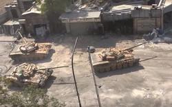 """Nổi giận ở Damascus, QĐ Syria ném sư đoàn cơ giới vào """"lò lửa"""": Tăng, pháo xông lên"""