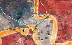 """NÓNG: QĐ Syria tấn công dữ dội từ bắc Abu Dhuhour - Nhanh tay khép chặt """"nồi hầm"""" khổng lồ"""