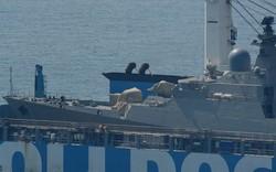 Tàu hộ vệ tên lửa Gepard thứ 4 của HQVN: Chặng cuối hành trình - Cảng Cam Ranh sẵn sàng