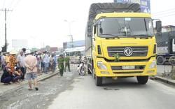 Người thân khóc ngất bên thi thể cụ bà bị xe tải cán