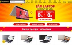 Thế Giới Di Động đang bán laptop trả góp 0%, trả trước 0 đồng