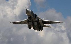 """Su-24 Không quân Nga vừa tránh được 2 tên lửa """"chết người"""" ở Idlib, Syria: Đẳng cấp!"""