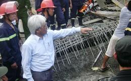 Sập công trình UBND huyện, hàng chục người thương vong