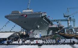 Video: Siêu tàu sân bay lớn nhất, đắt nhất Mỹ sắp hạ thủy