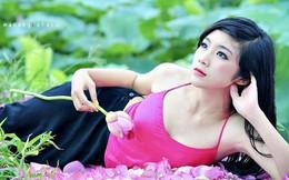 Hot girl 9x 'Người giấu mặt' mặc áo yếm gợi cảm