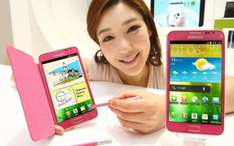"""Galaxy Note II màu hồng, món quà """"Lễ tình nhân"""" dành cho quý cô"""