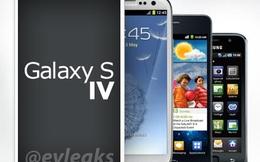Samsung Galaxy S IV không có phím Home?