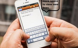 """Bí quyết gõ văn bản """"siêu tốc"""" cho iPhone/iPad"""