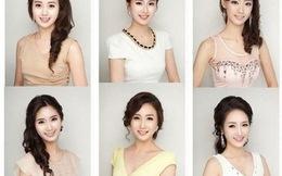 Dàn thí sinh Hoa hậu Hàn 2013 có... cùng chung một kiểu mặt