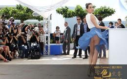 """Những sự cố """"dở khóc dở cười"""" của sao ở Cannes"""