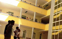 Bệnh nhân rơi từ tầng 4 của bệnh viện xuống sân