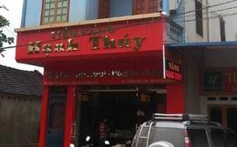 Chùm ảnh: Hiện trường vụ nã súng cướp tiệm vàng ở Thái Nguyên